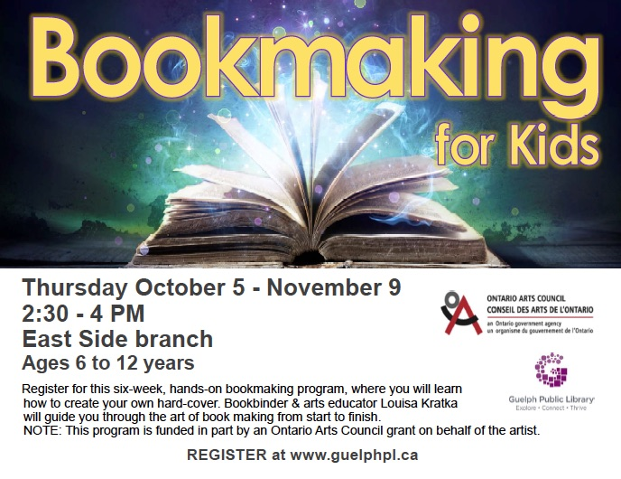 Bookmaking for kids GPL publicity